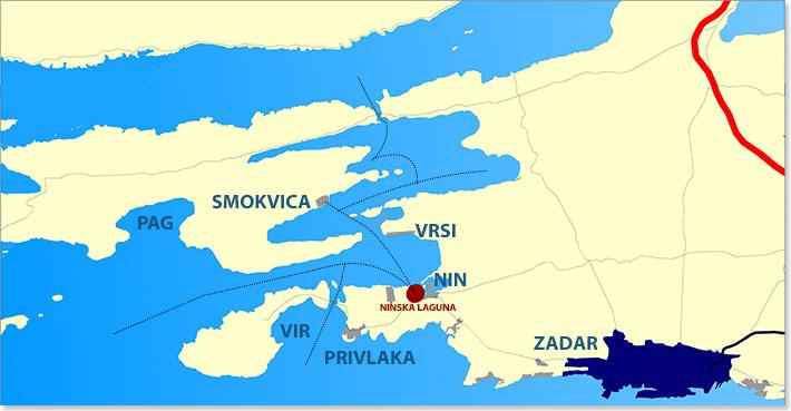 Nin marine map