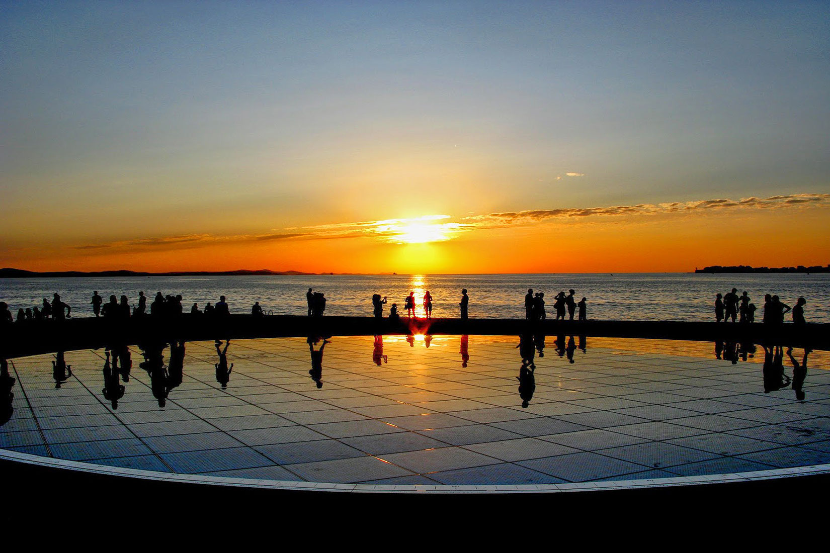 Greetings to the Sun in Zadar Croatia