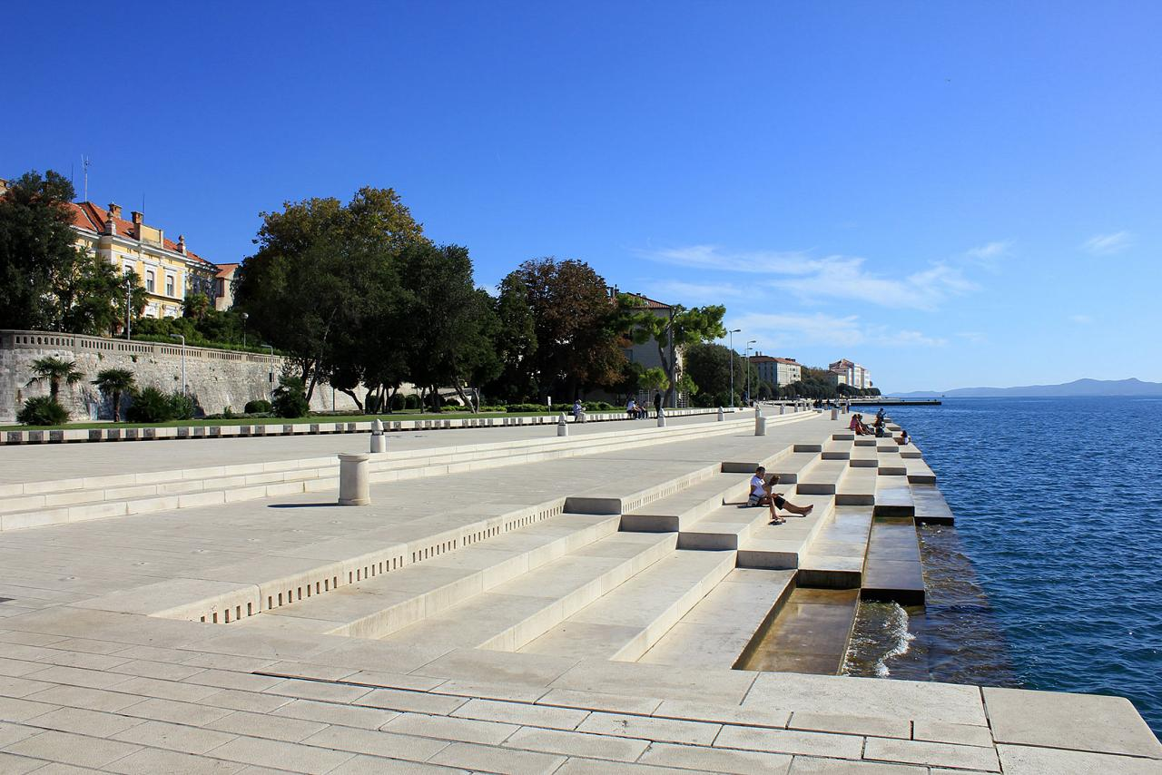 Sea Organs in Zadar, Croatia