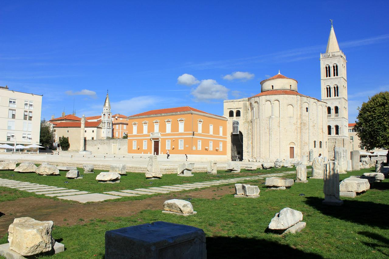 The Forum in Zadar, Croatia