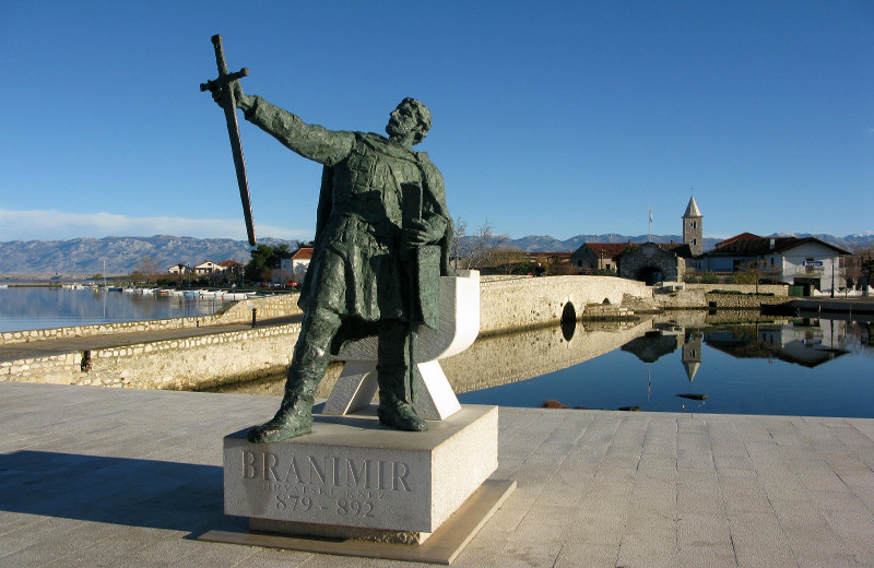 Duke Branimir in Nin, Croatia