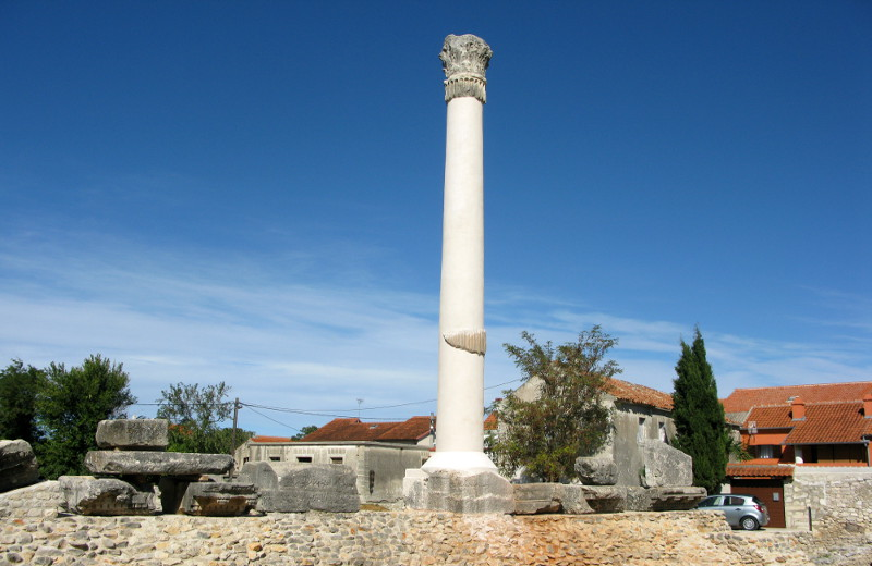 Roman Temple in Nin, Croatia